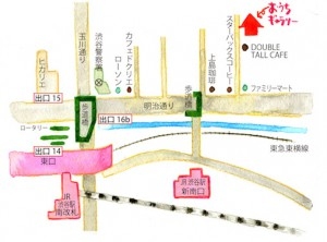 yoga shibuya map